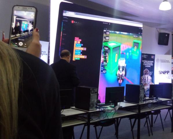 Paraguay SNPP Cyber Robotics Coding Competition